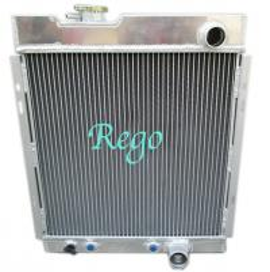 Racing Car Custom Built Aluminum Radiators For FORD MUSTANG V6 1964-1966 1965 Manufactures