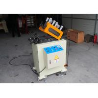 Cold Rolled Steel Strip Straightening Machine With 19pcs Straightener Roller 0 - 16m/min Speed Manufactures