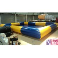 Good Tension Fireproof Blow Up Swimming Pools / Inflatable Vessel Manufactures