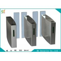 Full Height Speed Gates Sliding Turnstile Optical, RFID Access Control Turnstyles Manufactures