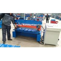 Top IBR Roofing Sheet Roll Forming Machine with Delta Brand touch screen Manufactures