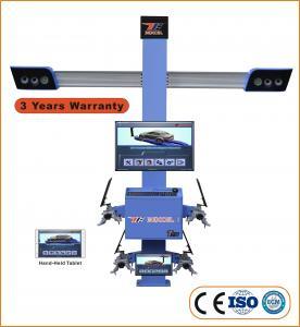 "ISO 9001 210"" Wheelbase 11"" Clamp 3D Wheel Aligner T75 Manufactures"