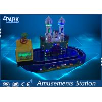Comfortable Kiddy Ride Machine Train Ride On Track For Supermarket 220V Manufactures