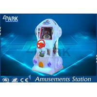 Deformation Car Amusement Arcade Racing Game Machine  With Colorful Light Box Manufactures