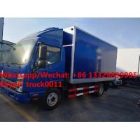 Quality Factory customized best price JAC 4*2 LHD freezer refrigerator van truck for for sale