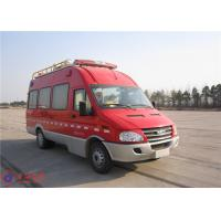 Communication Fire Command Vehicles With 100 Watt Alarm Function Module Manufactures
