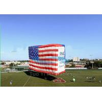 Cube Large Jumbo Patriotic Custom Advertising Inflatables For Outdoor Tradeshow Manufactures