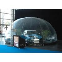 Quality Popular Inflatable Bubble Tent / Car Capsule / Hail Proof Car Cover SGS Certification for sale
