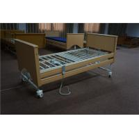 China Height Adjustable Home Care Beds With Lock Down Side Rails On Casters on sale