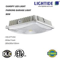 IP65 rating Canopy LED Lights 50W, 100-277vac, ETL/CETL listed, 5 yrs warranty Manufactures