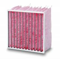 High filtration efficiency poly lactic acid needled filter bag Manufactures