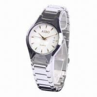Buy cheap Quartz Metal Wristwatch with Ceramic Case Material from wholesalers