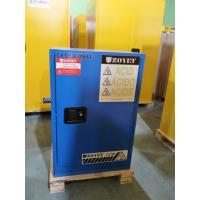 Blue Corrosive Chemical Acid Storage Cabinet Flammable Locker Single Door Manufactures