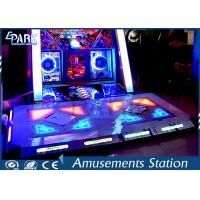 Commercial Dance Hero Arcade Dance Machine Easy Operated With Flash Light Manufactures