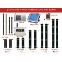 solar powered wireless active detectors alarm receiver wireless signal system Manufactures
