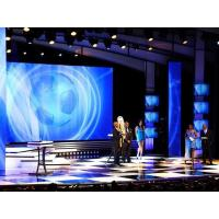 China Flat Wall Mounted P4 Indoor Led Screens / Display Hire For Stage on sale