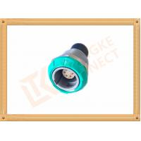 Medical 6 Pin Push Pull Connector Circular Self Latching System Manufactures