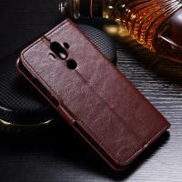 Quality Anti - Dirt Huawei Leather Case For Huawei Mate 9 Magnetic Slim Design for sale