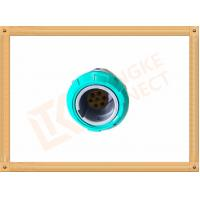7 Pin Circular Plastic Push Pull Connector Adapter For Breathing Machine Manufactures