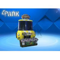 Amusement Park Baby Swat Kids Race Car Arcade Machine For 2 Player Manufactures