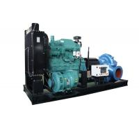 Fire Control High Pressure Diesel Powered Water Pumps Centrifugal Double Suction Manufactures