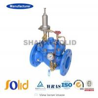 DI Double Flange Pressure Sustaining and Relief Reducing Valve Manufactures