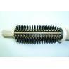 Custom Large Hair Waving Curling Tongs / Professional Natural Hair Iron Brushes Manufactures