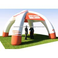 Quality Commercial Advertising Inflatable Tent , Waterproof Inflatable Lawn Tent for sale