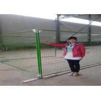 Buy cheap PVC coated welded canada temporary movable fencE from wholesalers