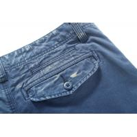 Quality Blue Adults Acid Wash Cotton Mens Casual Pants in XS S M L XL Size for sale