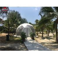 4m Half Dome Marquee Tent For Store / Reception 750 - 850gsm PVC Roof Fabric Manufactures