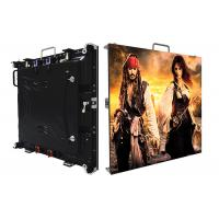 Super High Contrast Outdoor Led Screen Hire IP65 Black Lamp Full Color 1r1g1b P3.91 Manufactures