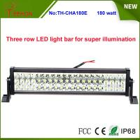 "Three Rows High Quality 180W 25"" 60*3w Epistar LED Offroad LED Light Bar for SUV, 4X4, UTV Manufactures"