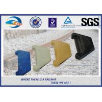 PA66 Rail Nylon Insulator Rail Guide Plates For E-Type / SKL Series / Nabla Fastening System Manufactures
