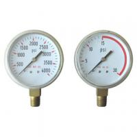 Buy cheap steel pressure guage from wholesalers