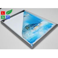 High Brightness LED Snap Frame Light Box Low Heat Wall Mounted For Coffee Bar Manufactures