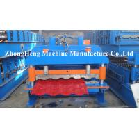 70mm Solid Shaft Sheet Metal Double Layer Roll Forming Machine Supporter Stacker Manufactures