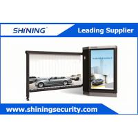IP54 Approved Advertising Barriers Outdoor Windproof Parking Barrier Gate Manufactures