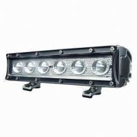 30W LED Lightbar with 10 to 30V DC Operating Voltage and 6000K Color Temperature Manufactures