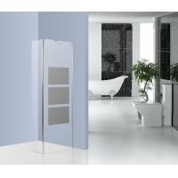 Straight Glass Wall Shower Enclosure Walk In Shower Units With Mobile Door Manufactures
