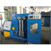 15KW Yaskawa Inverter Fine Wire Drawing And Annealing Machine For Single Bare Copper Wire Manufactures