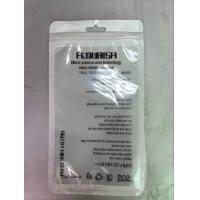White Pearly Film Foil Ziplock Bags Translucent Visible Yin - Yang Bone Bag Manufactures