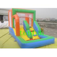 Oxford fabric Commercial Inflatable Bounce House With Slide For Kids Manufactures