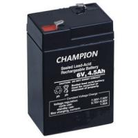 Sealed Rechargeable 6V 4.5AH Lead Acid Battery Emergency Light Battery ISO / CE Manufactures