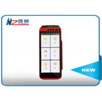 Capatitive Touch Screen Mobile Point Of Sale Android Pos Device With Memory Card Manufactures
