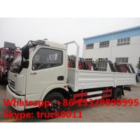 Quality Hot sale dongfeng 4*2 3tons-5tons light duty cargo truck, factory direct sale 5tons light duty dump cargo truck for sale