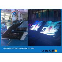 China Commercial Wall Mounted Front Service HD P10 Indoor Led Display Curtain Led Screen on sale