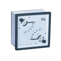 96 * 96  45 - 65 Hz Analogue Panel Meters ,  Dual Frequency Meter Manufactures