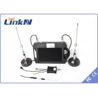Digital Cofdm UAV Video Transmitter TX With Outdoor Portable LCD Screen RX , AES 256 Encryption Manufactures