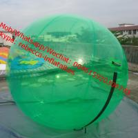 Quality human water bubble ball float ball water level crystal snow globe water ball for sale
